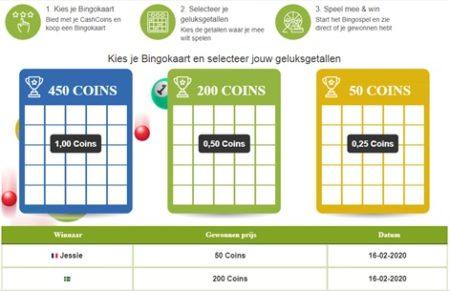Cashbbackkorting bingo
